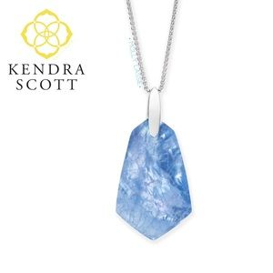 Kendra Scott Blue Illusion Necklace Cam